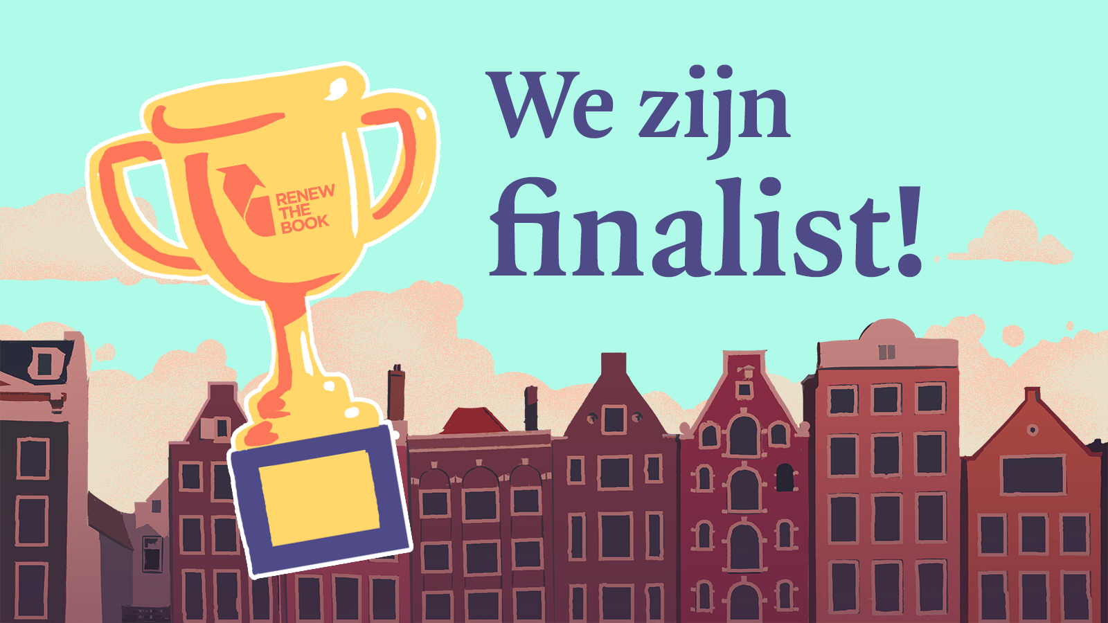 Immer is finalist bij de Renew the Book Innovation Award