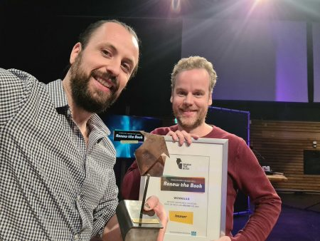 Immer wins Renew the Book Innovation Award